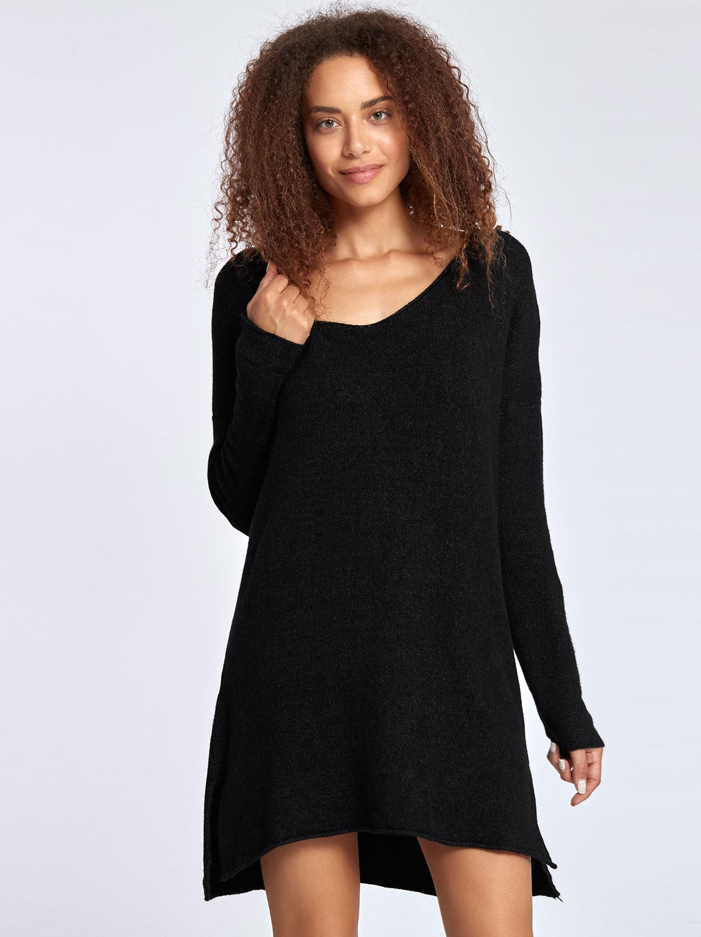 400011968f14 Πλεκτό mini φόρεμα WL7810.8535+1