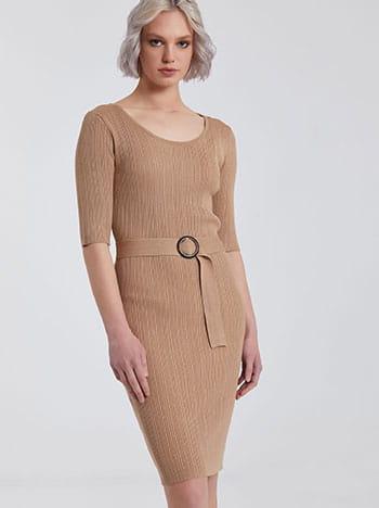 Midi ριπ φόρεμα SG1156.8003+1