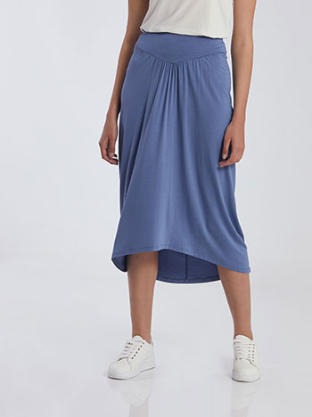 Ασύμμετρη midi φούστα SG2116.2001+3
