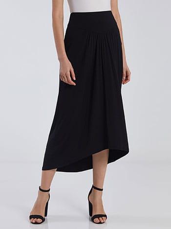 Ασύμμετρη midi φούστα SG2116.2001+1