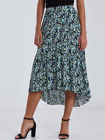 Ασύμμετρη φούστα με βολάν SG2121.2002+1