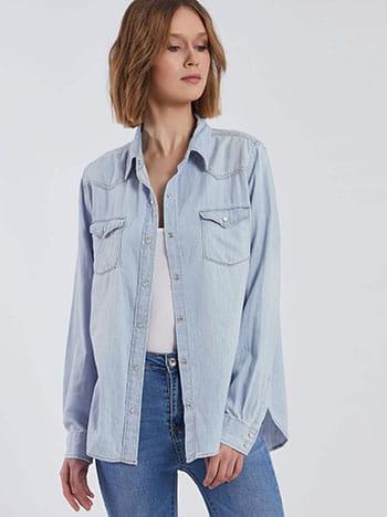 Τζιν πουκάμισο SG238.3011+1