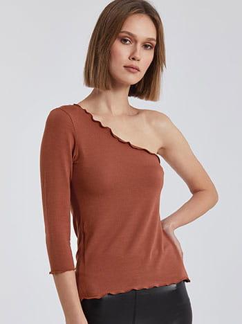 Μπλούζα με κυματιστό φινίρισμα SG6155.4001+1
