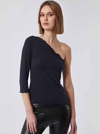 Μπλούζα με κυματιστό φινίρισμα SG6155.4001+8