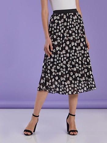Πλισέ floral φούστα SG7835.2803+1