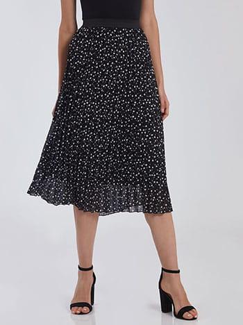 Πλισέ φούστα με λουλούδια SG7835.2806+2