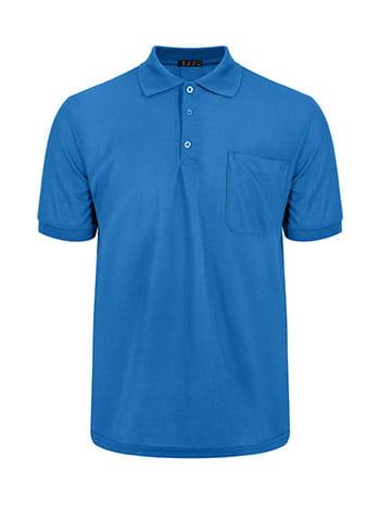 Ανδρική μπλούζα με γιακά και τσέπη SG9888.4532+6