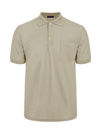 Ανδρική μπλούζα με γιακά και τσέπη SG9888.4532+5