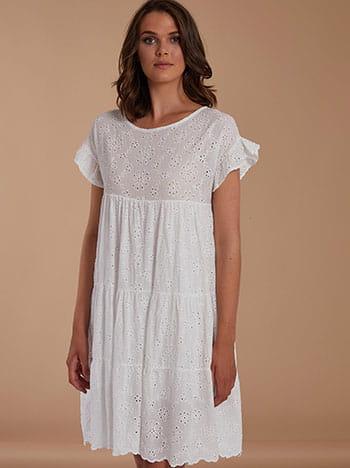 Κιπούρ βαμβακερό φόρεμα SH7834.8556+2