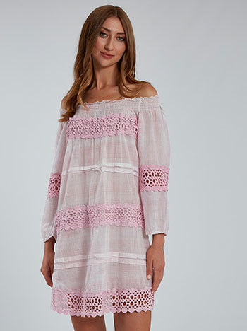 Φόρεμα με δαντέλα SH9845.8172+4
