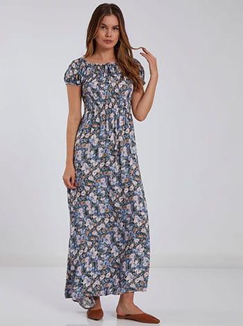 Floral φόρεμα SH9856.8080+1