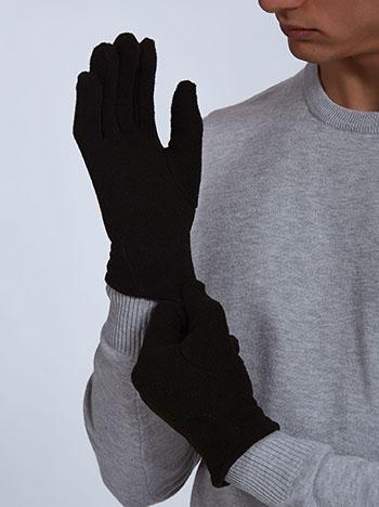 Ανδρικά γάντια WE1531.A160+4