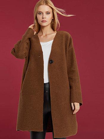 Oversized παλτό WE7817.7368+3