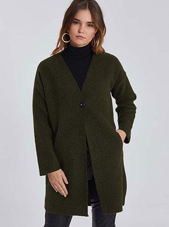 Oversized παλτό WE7817.7368+7