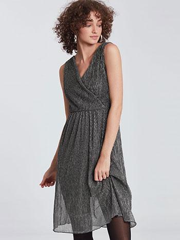 Κρουαζέ μεταλλιζέ φόρεμα WE874.8771+1