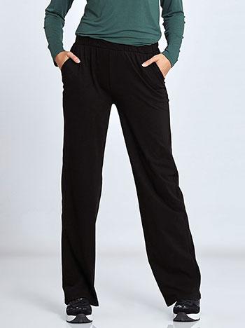 Plus size βαμβακερό παντελόνι φόρμας με τσέπες WL1281.1001+1 παντελονια κολαν φορμεσ