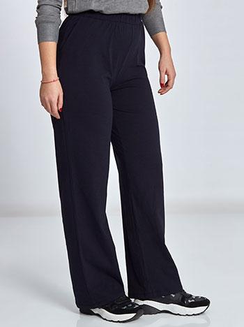 Plus size βαμβακερό παντελόνι φόρμας με τσέπες WL1281.1001+3 παντελονια κολαν φορμεσ