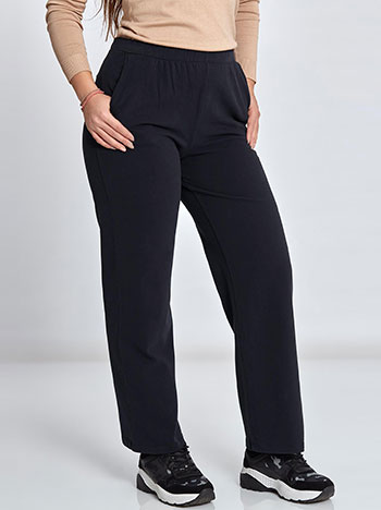 Plus size παντελόνι φόρμας με τσέπες WL1281.1002+2 παντελονια κολαν φορμεσ