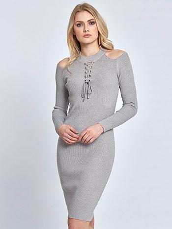 31899211e6be Ριπ φόρεμα με ακάλυπτους ώμους WL1369.8513+1 WL1369.8513+1