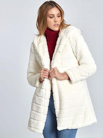 Παλτό από οικολογική-συνθετική γούνα WL1519.7039+3 WL1519.7039+3 a38f32e63b4