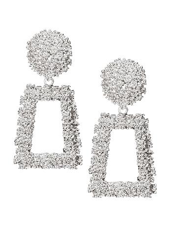 Κρεμαστά ορθογώνια σκουλαρίκια WL1588.A290+1 κοσμηματα σκουλαρικια
