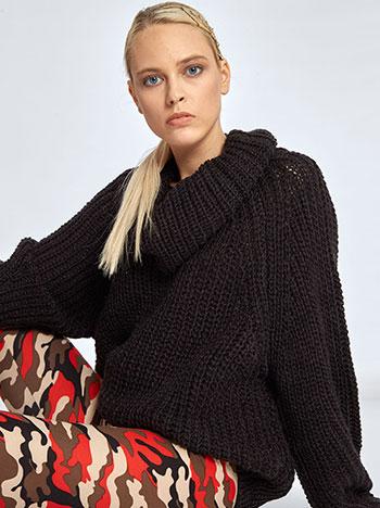 81311a904027 Γυναικεία Ρούχα Πλεκτά-Ζακέτες Chenille πουλόβερ με σχέδιο WL1627.9825+4