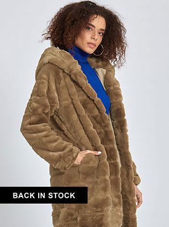 Παλτό από συνθετική-οικολογική γούνα WL1627.7881+3 WL1627.7881+3 ... cd0ec0711e2