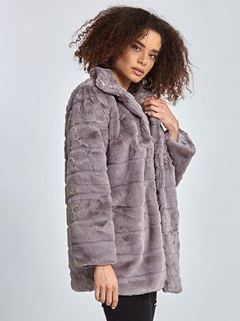 Κοντό παλτό από οικολογική-συνθετική γούνα WL1627.7882+2 WL1627.7882 ... 09f4ae29b9d
