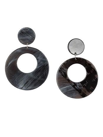 Κρεμαστά σκουλαρίκια κρίκοι WL1660.A003+1 κοσμηματα σκουλαρικια