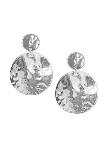Σκουλαρίκια δίσκοι με ανάγλυφη υφή WL1662.A312+1 κοσμηματα σκουλαρικια