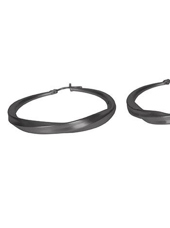 Ματ σκουλαρίκια κρίκοι WL1662.A338+2 κοσμηματα σκουλαρικια