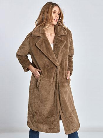 Μακρύ παλτό από συνθετική γούνα WL269.7274+1 WL269.7274+1 5cd3d4085dd