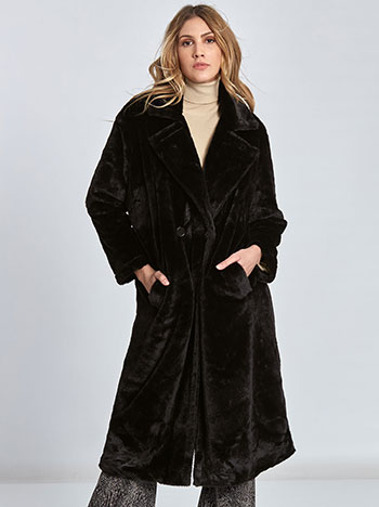 Μακρύ παλτό από συνθετική γούνα WL269.7274+2 WL269.7274+2 050b36089f6