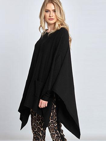 Πλεκτό πουλόβερ-κάπα WL406.9698+3 WL406.9698+3 – Online Ρούχα 1e718bd4e50