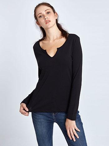 5ca26d0c034 Βαμβακερή μακρυμάνικη μπλούζα WL4799.4001+3