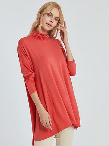 Μακριά ζιβάγκο μπλούζα WL4893.4001+8 μπλουζεσ ζιβαγκο