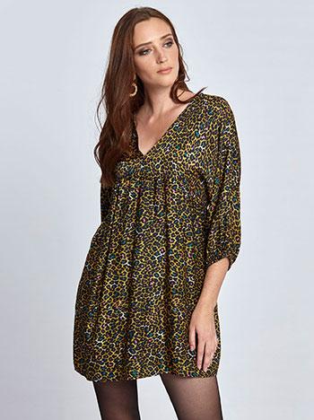 cf2427b4df50 Mini λεοπάρ φόρεμα WL7783.8726+1