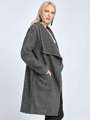 Μπουκλέ παλτό με τσέπες WL7817.7625+1 WL7817.7625+1 8c92d94a92a
