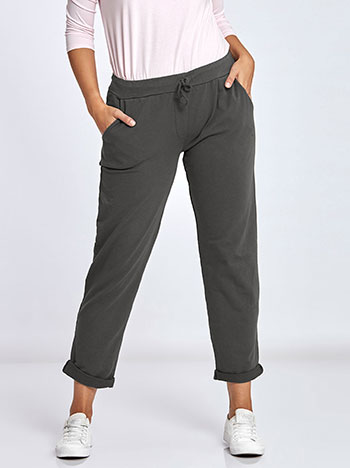 Plus size παντελόνι φόρμας WL7818.1095+1 παντελονια κολαν φορμεσ
