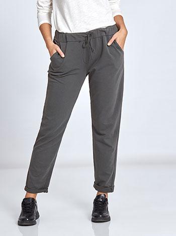Plus size παντελόνι φόρμας WL7818.1095A+1 παντελονια κολαν φορμεσ