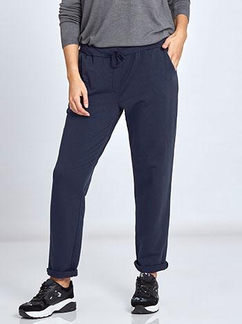 Plus size παντελόνι φόρμας WL7818.1095A+3 παντελονια κολαν φορμεσ