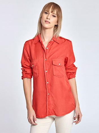 Tencel πουκάμισο WL7822.3005+4 μπλουζεσ πουκαμισα