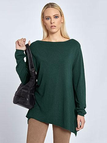 Μπλούζα με bateau λαιμόκοψη WL7837.9031+18 μπλουζεσ πουλοβερ