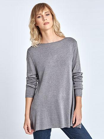 f629eb154c4b Long sleeve top with bateau neckline
