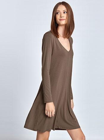 609c886ba67a Midi φόρεμα με βάτες WL8434.8001+2 WL8434.8001+2 ⋆ e-gynaika.gr
