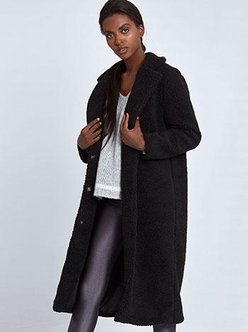 Παλτό με υφή από συνθετικό μαλλί προβάτου WL874.7101+2 WL874.7101+2 e1419af8140