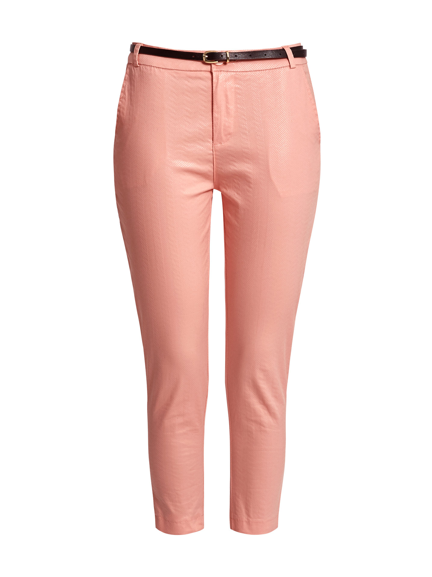 7af9acdc881f6 Shiny pattern chino trousers in pink, 16.40€ | Celestino