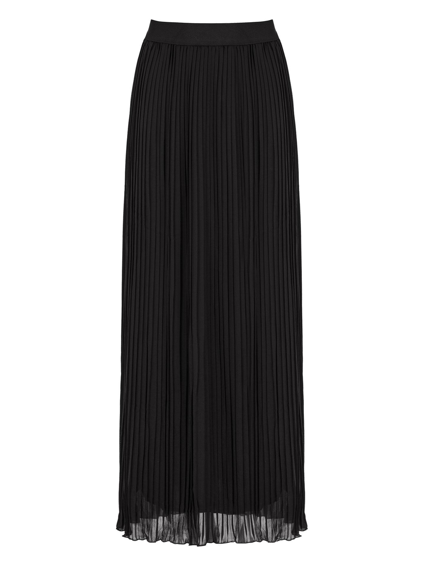 Πλισέ maxi φούστα σε μαυρο 713bda7edf2