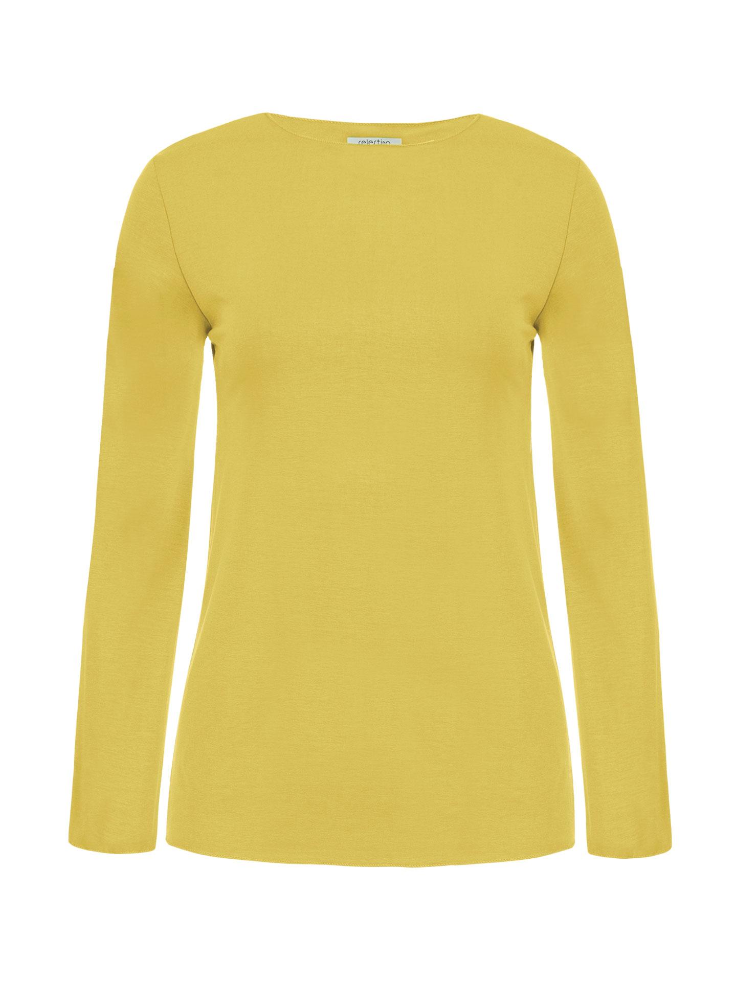 ab6a9bd3a886 Μακρυμάνικη μπλούζα σε κιτρινο
