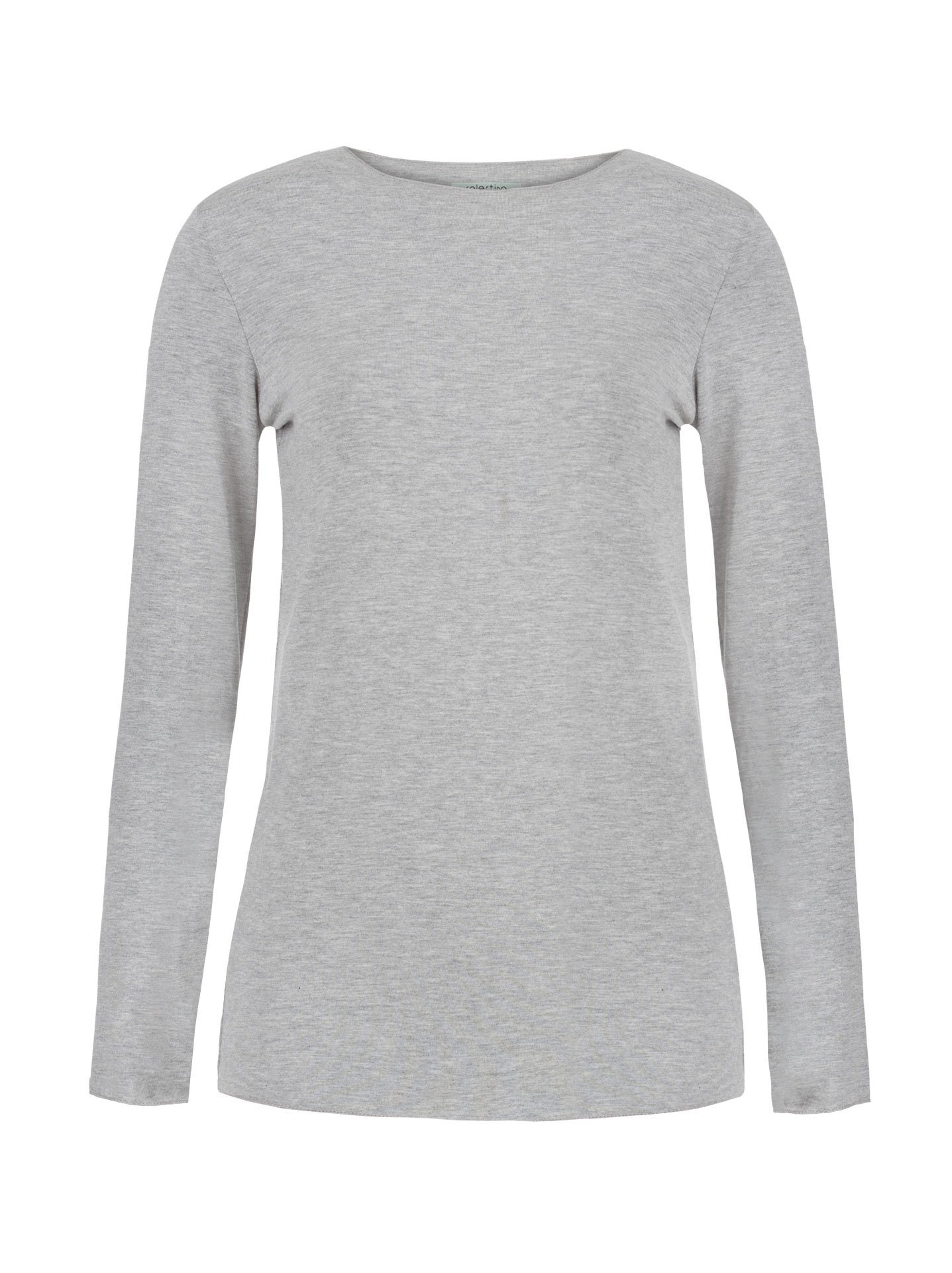 447c09ed300a4b Long sleeve top in light grey, 9.80€ | Celestino